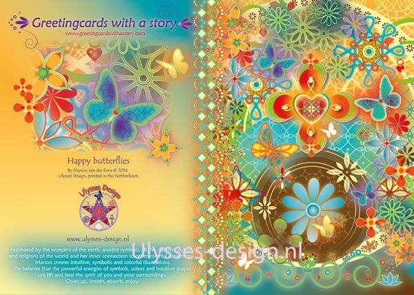 Happy Butterflies achterkantplus