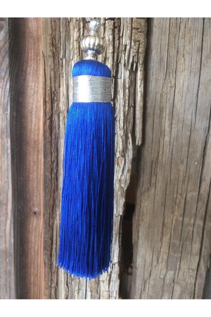 kwast med kobaltblauw