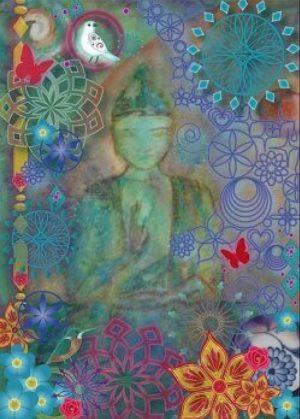 magische kaart joyfull meditation e