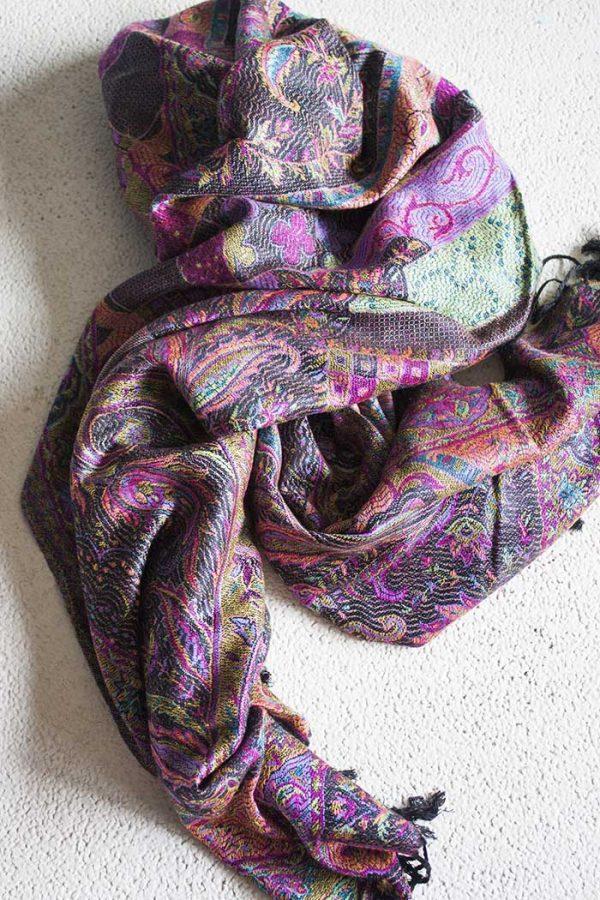 scarve gipsy multicolor roze