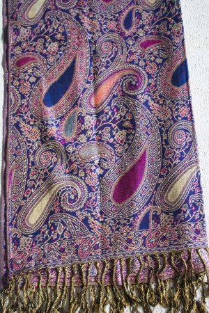 scarve gipsy paars roze