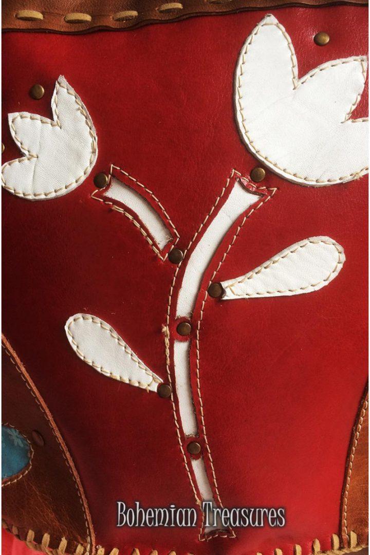 tas rood witte tulp