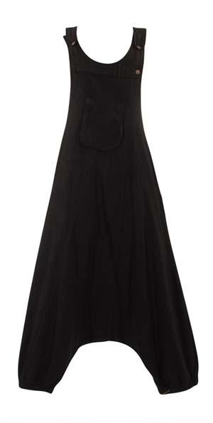 Jumpsuit zwart harem