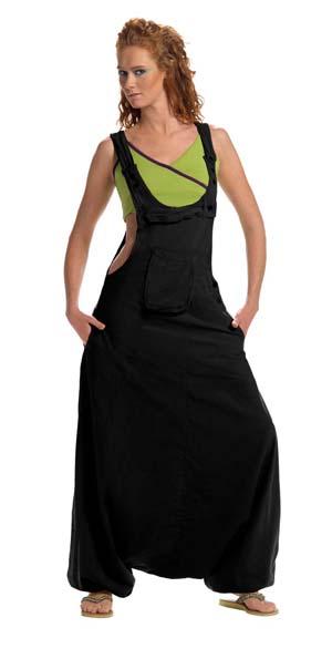 harem jumpsuit zwart