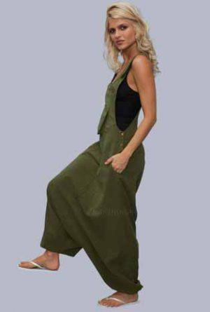 jumpsuit armygreen