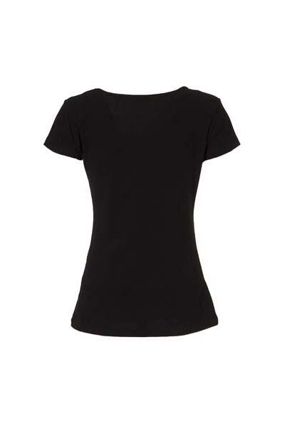 T shirt zwart met mandalas