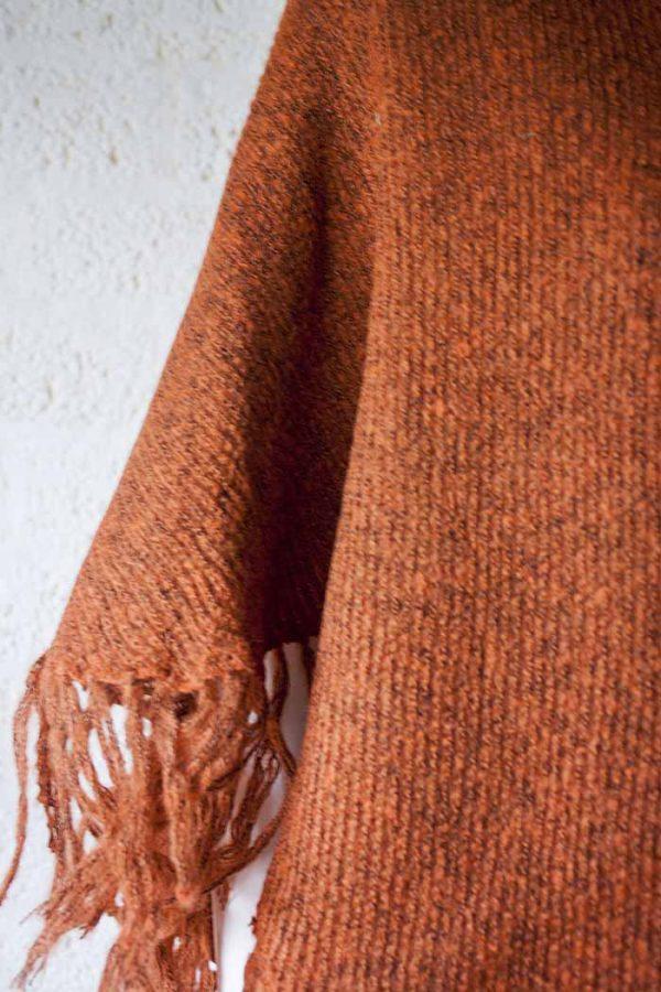 poncho terra acryl wol