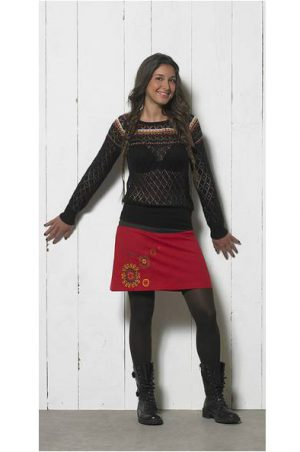 trui lange mouwen zwart