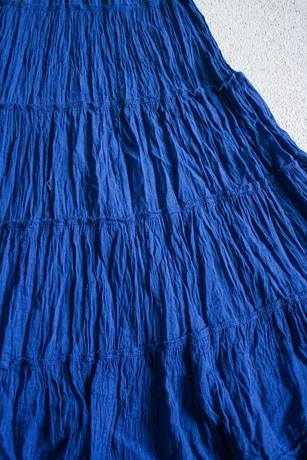 gipsy strokenrok uni blauw