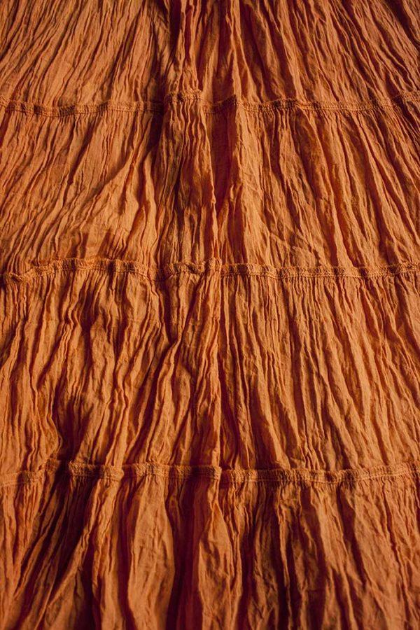 gipsy strokenrok uni terra oranje
