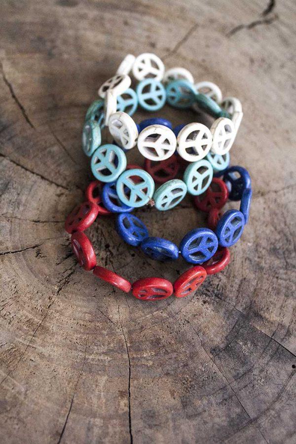 armbandje vredestekens  kleuren