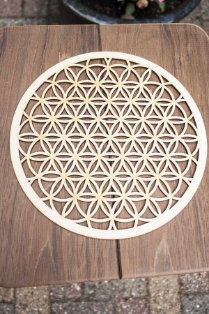Flower of life open