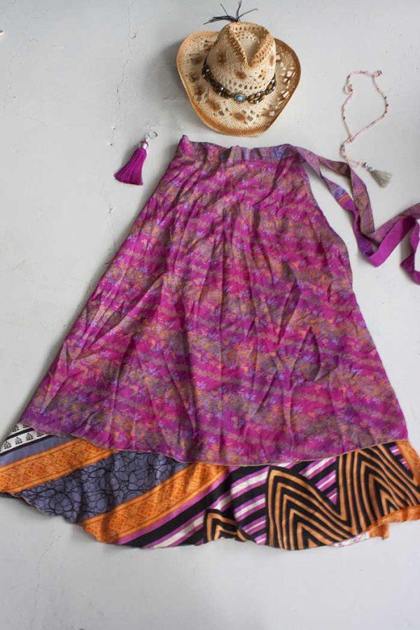 Bohemian Gypsy India Wikkelrok   van