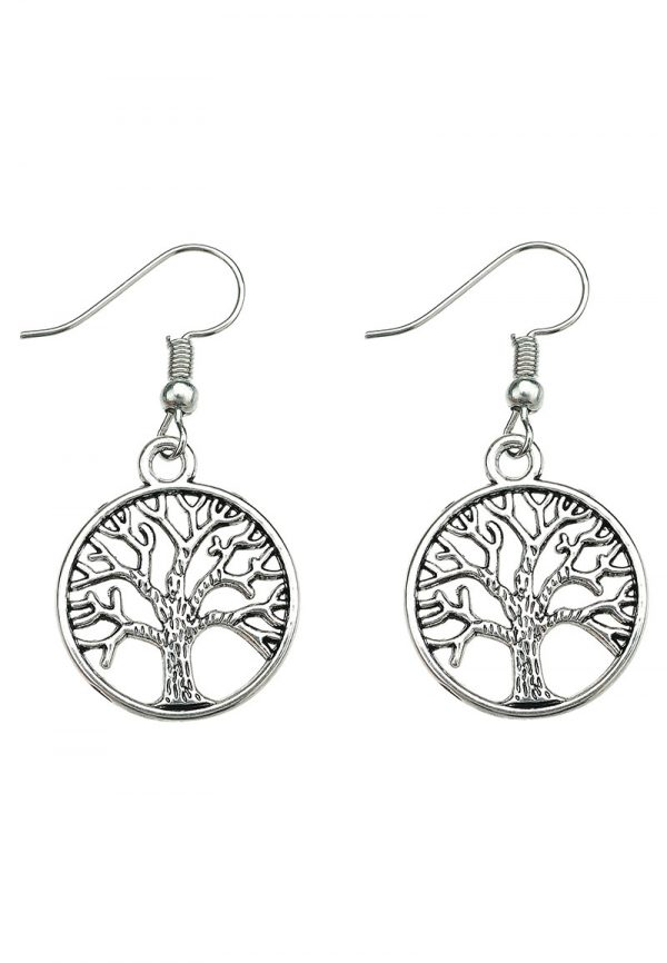 tree of life oorbellen