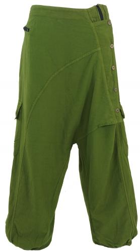 Harembroek groen met knoopjes