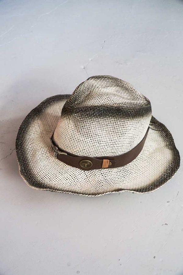hoed strok longhorn creme