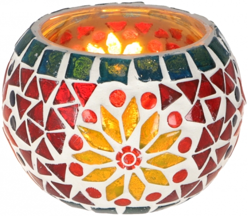 mozaiek waxine houder oriental